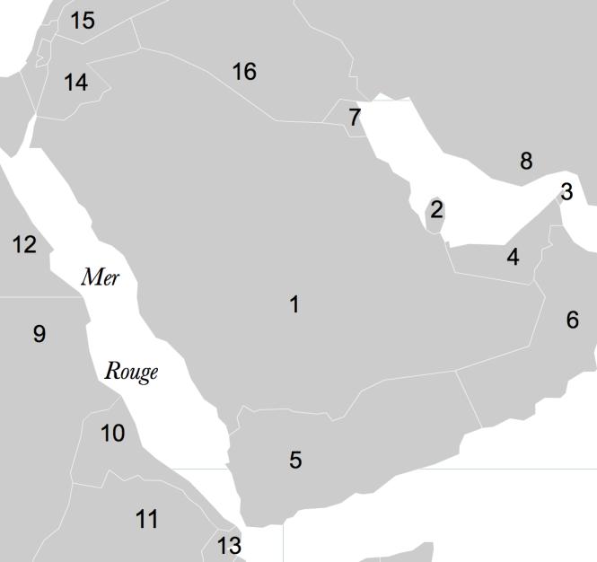 2 La péninsule arabique et ses environs