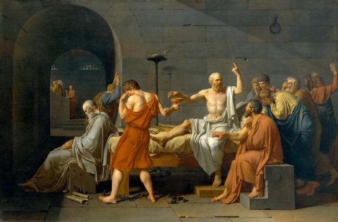La mort de Socrate par David.png