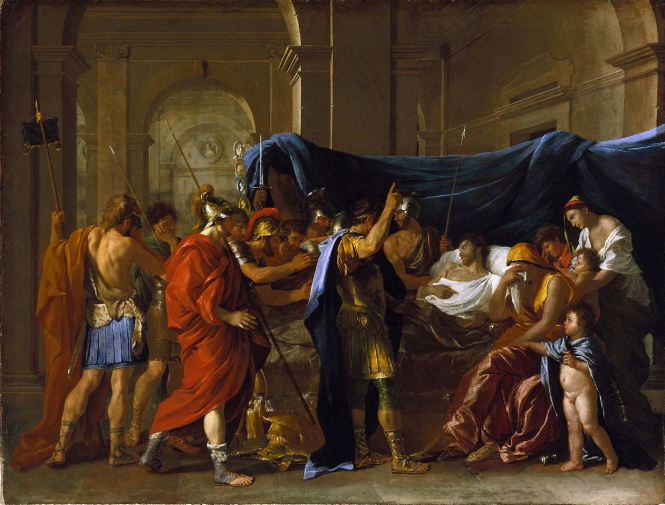 Poussin La mort de Germanicus.png