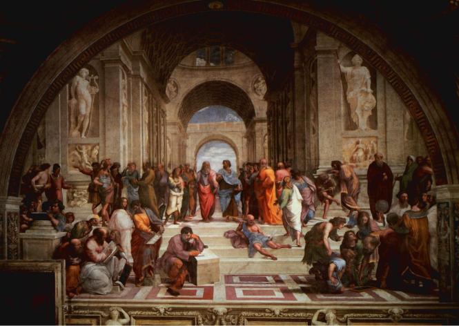 Raphael L'Ecole d'Athènes.png