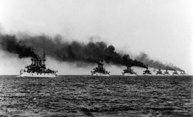 14. La Great White Fleet, sans doute autour de 1910.png