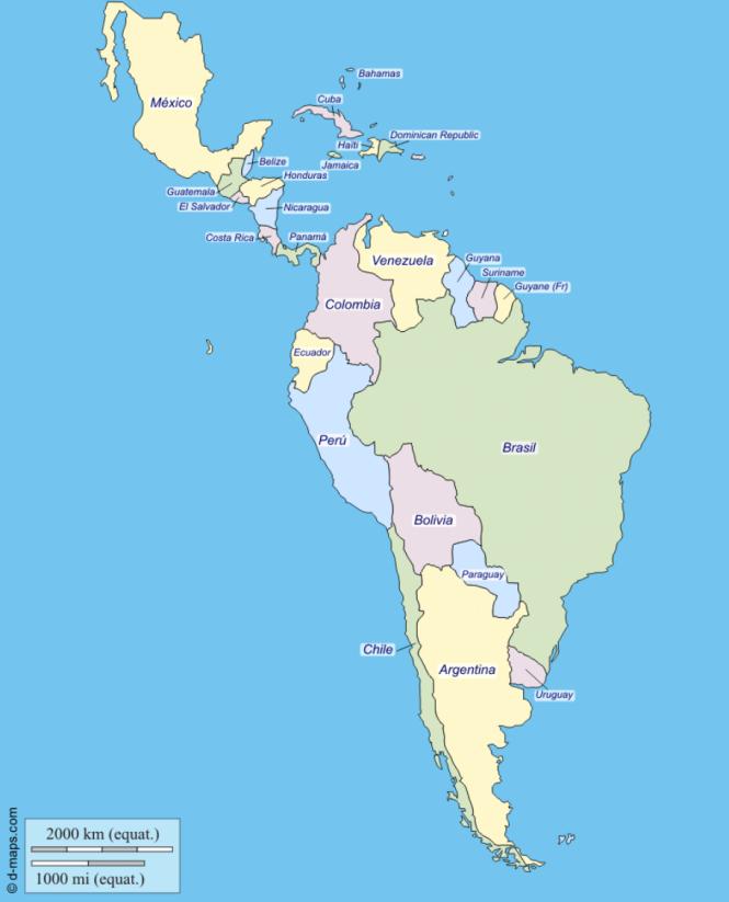 Carte des Amériques latines.png
