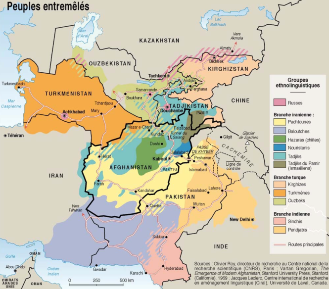 12d Groupes ethno-linguistiques dans le sud de l'Asie centrale et le nord-ouest du sous-continent indien.png