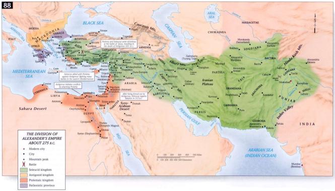 c Les royaumes hellénistiques quelques décennies après leur création.png