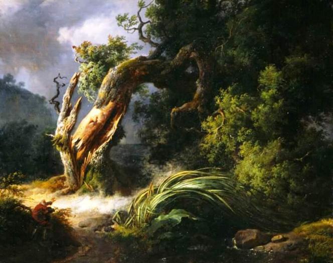 Chêne et le Roseau d'Achille Michallon.png