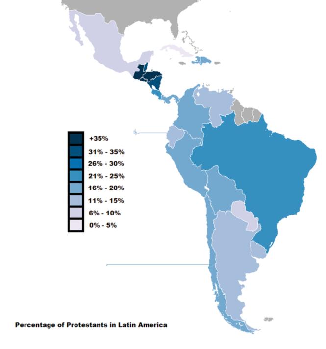 Pourcentages évangéliques en Am lat au milieu de la deuxième décennie du XXIe.png