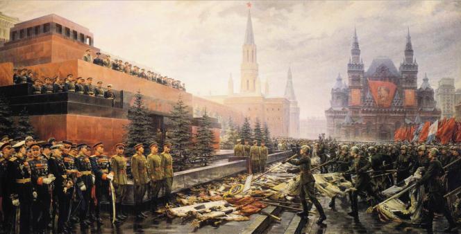 Mikhail Khmelko, Le triomphe d'un peuple conquérant.png