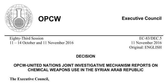 Décision de l'OIAC-OPCW du 11 novembre 2016.png