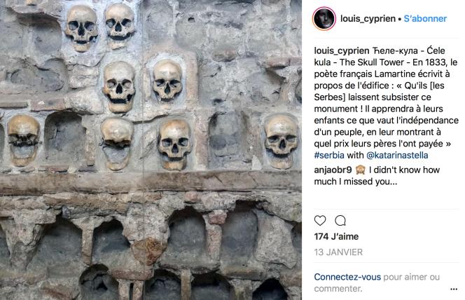 Serbie, La tour des crânes.png
