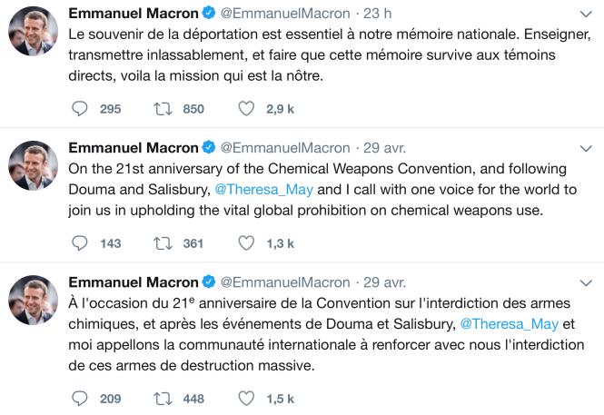 Twts de M. Macron fin IV 2018.png