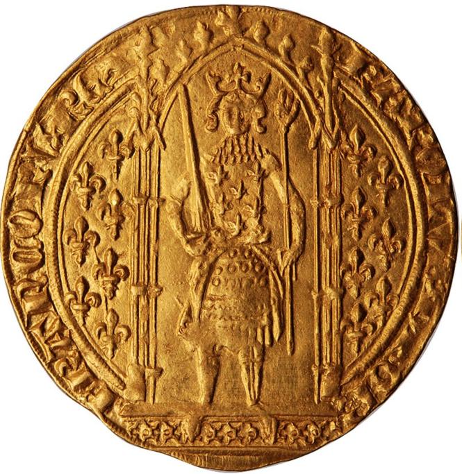 Franc à pied d'or de Charles V le Sage.png