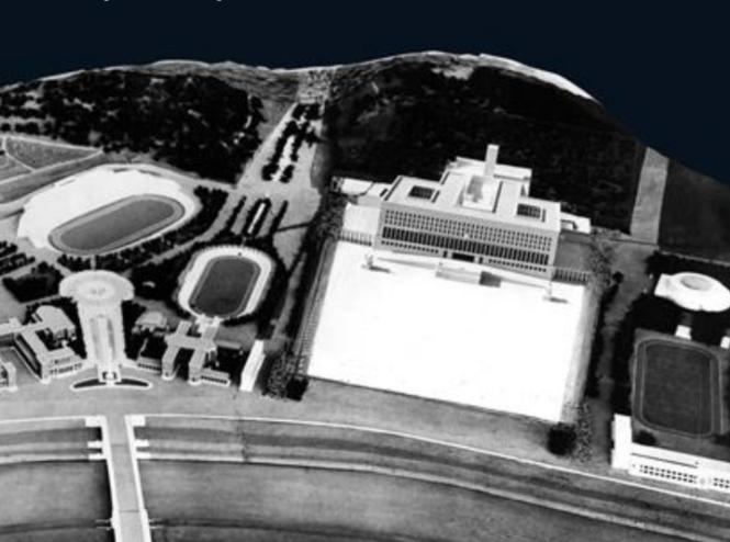 Le projet du Palazzo del Littorio à la fin de 1938.png