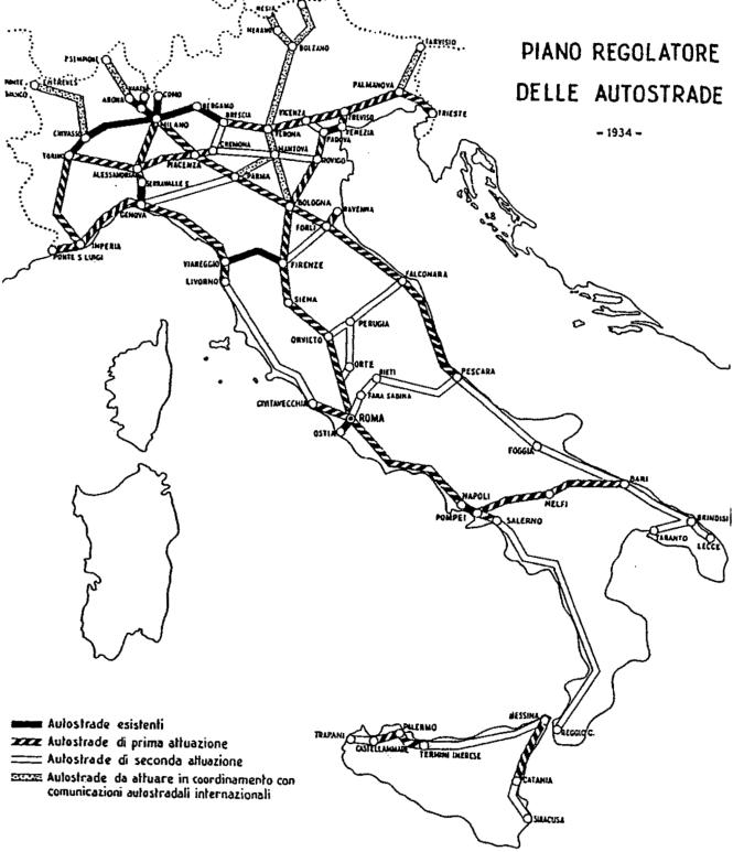 Plan régulateur italien des autoroutes de 1934.png