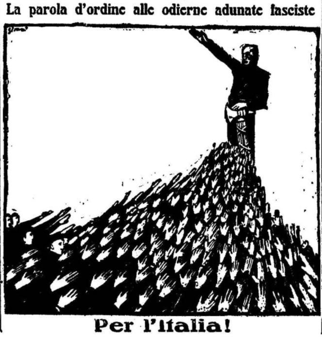 Sironi, Popolo d'Italia, 20 septembre 1922.png