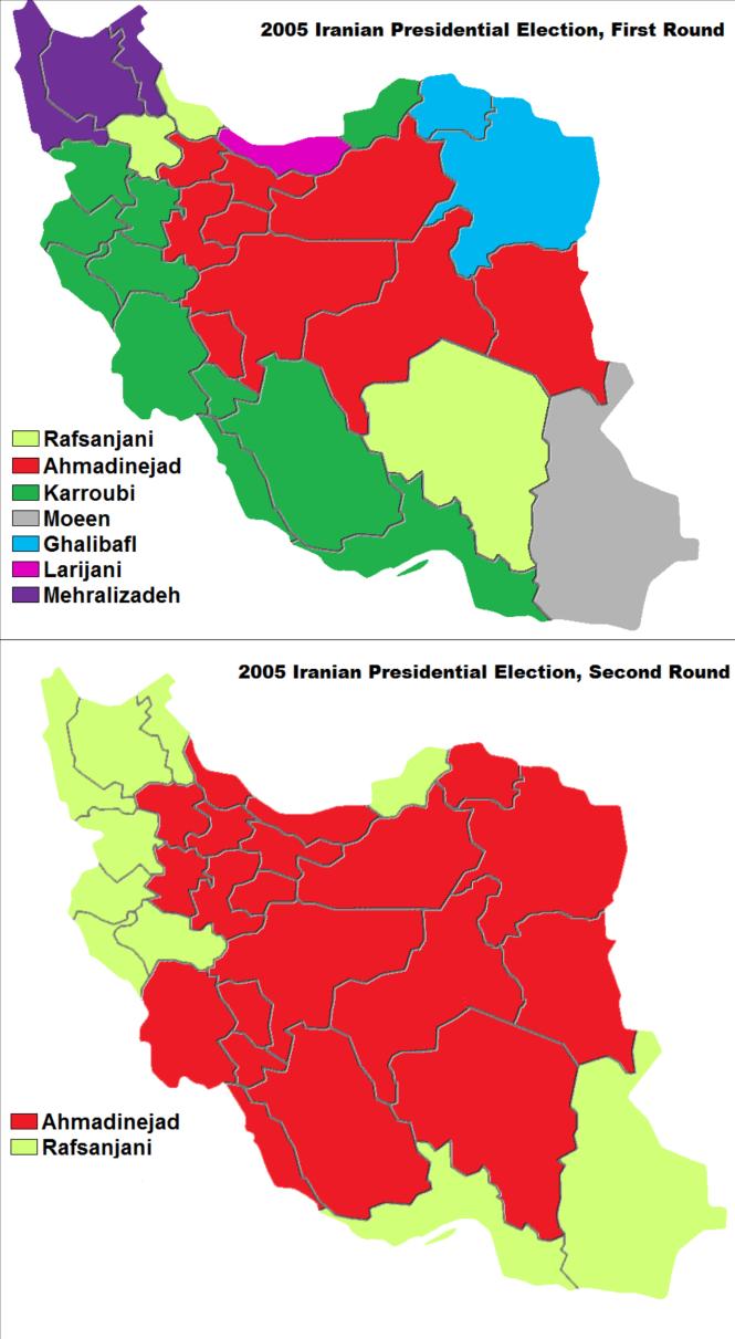 élection présidentielle de 2005 - répartition régionale.png