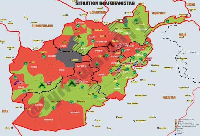La situation en Afghanistan à la charnière de 2017 et 2018.png