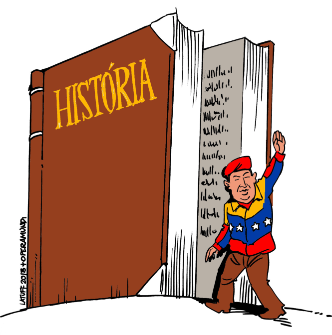 Hugo Chavez par Carlos Latuff.png