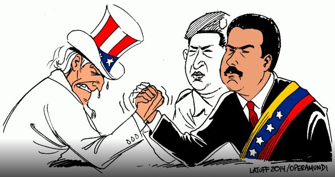 M. Nicolás Maduro par Latuff.png