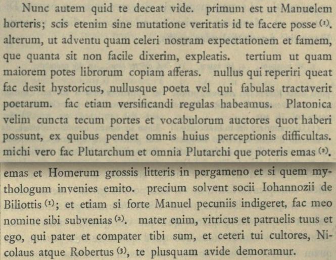extrait d'une lettre de Salutati de mars 1396.png