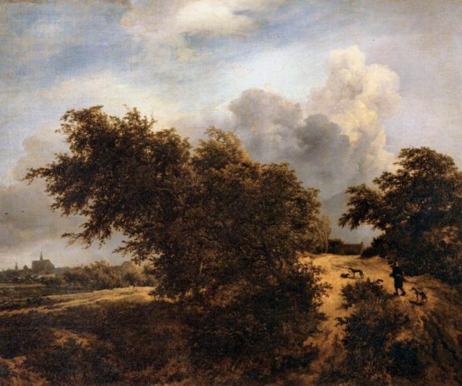 Ruysdael, Le buisson c. 1650.png