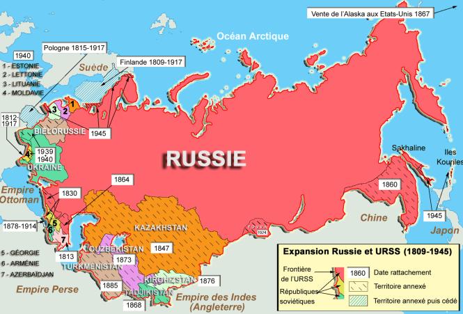 25 Expansion russe puis soviétique, à partir de 1809.png