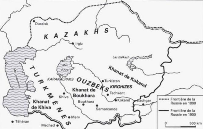 28 L'Asie centrale des Khanats, XVIIIe- XIXe.png