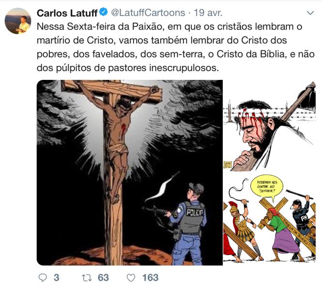 le compte twitter de Carlos Latuff le 19 avril 2019.png