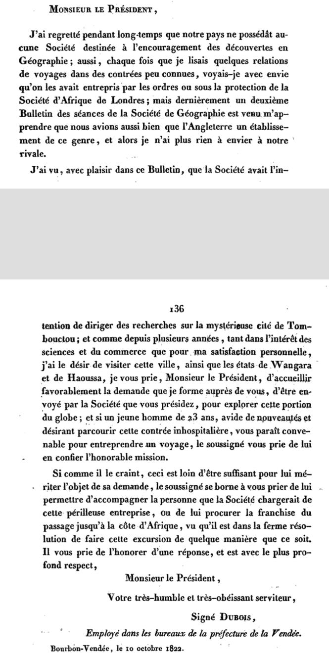 66 La lettre de Dubois à la Société de Féographie en 1822 .png