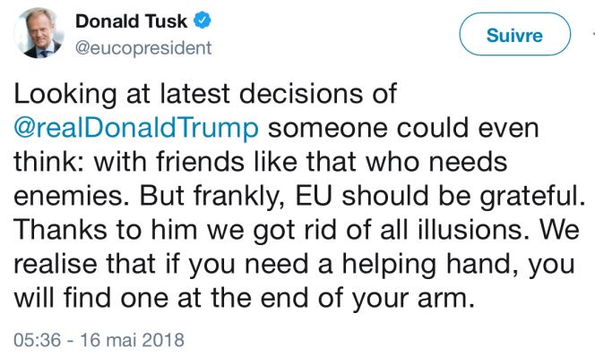 tweet de Donald Tusk.png