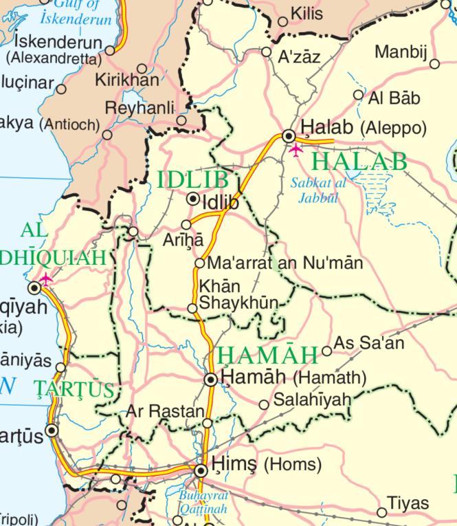 le nord-ouest de la Syrie.png