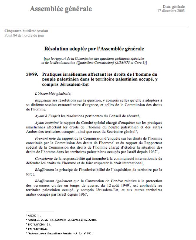 AGNU Résolution 9 décembre 2003 1.png