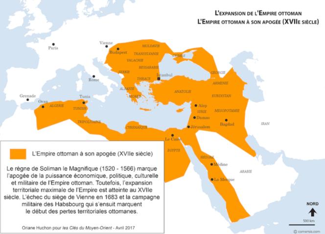 empire ottoman à son apogée au XVIIe siècle.png